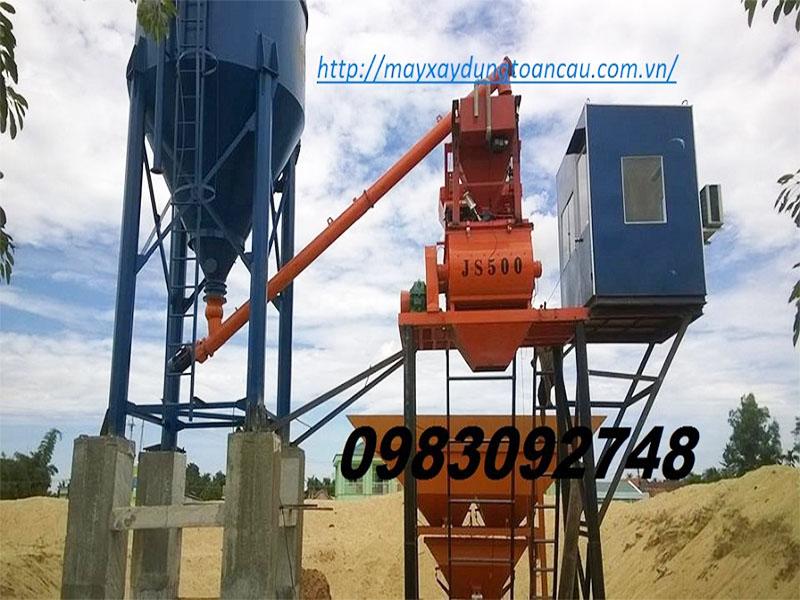 Trạm trộn bê tông công suất 30-35m3/h